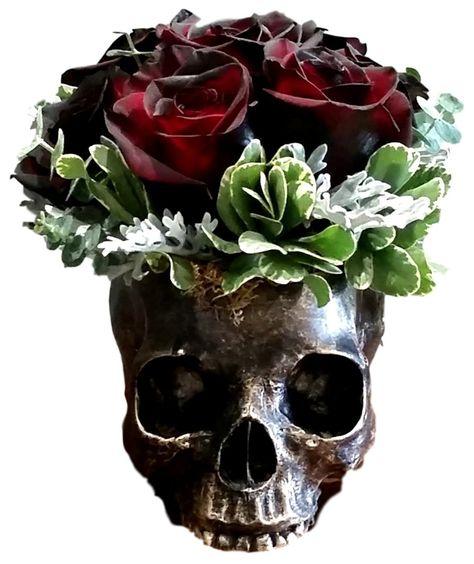 Ebros Day Of The Dead Skull Bowl Resin 7