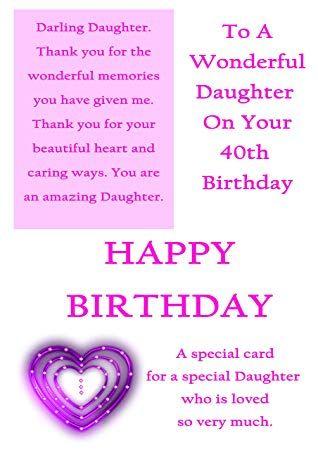 Image Result For Daughter 40th Birthday 40th Birthday Birthday Daughter