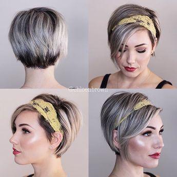 Stirnband 360 Mein Haar Ist Endlich Lang Genug Um Ein Stirnband Zu Bedecken Frisuren Mit Haarband Kurze Haare Haarschnitt Ideen Kurzhaarfrisuren