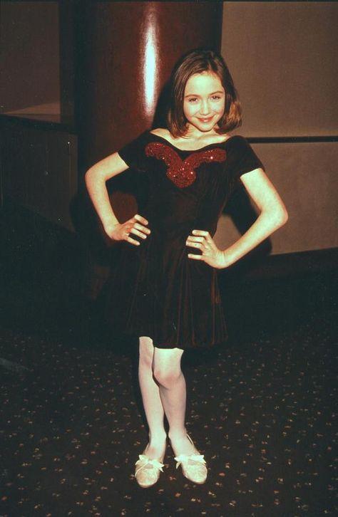 Madeline Zima in childhood