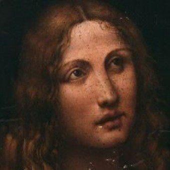 Hallan Un Cuadro Del Principal Colaborador Y Amante De Leonardo Da Vinci Lo Subastarán En París Leonardo Da Vinci Pintura Al Fresco San Juan Bautista