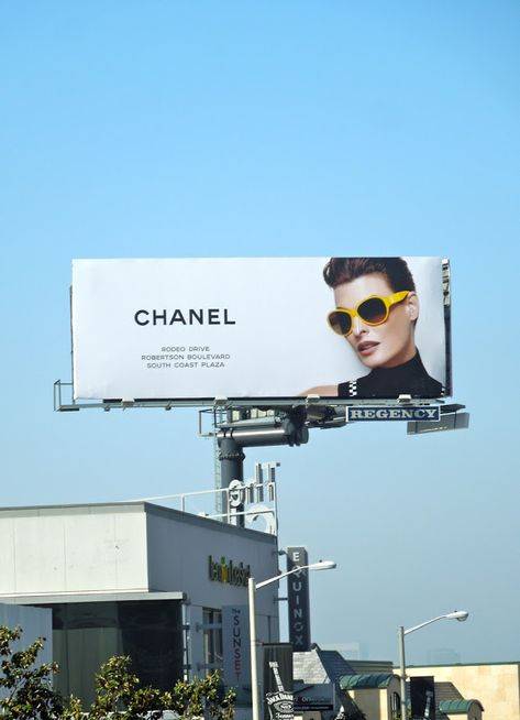 Battle of the billboards: Gucci vs CK vs Chanel sunglasses...