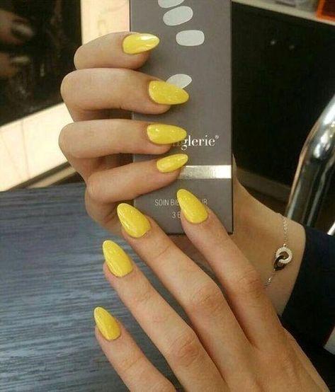 | #yellownails