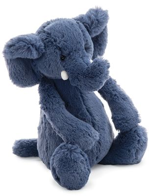 Bashful Blue Elephant Jellycat Elephant Toddler Themes
