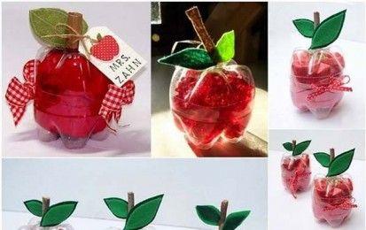 Bricolage Con Bottiglie Di Plastica.Lavoretti Per Bambini Con Bottiglie Di Plastica Foto Creazioni