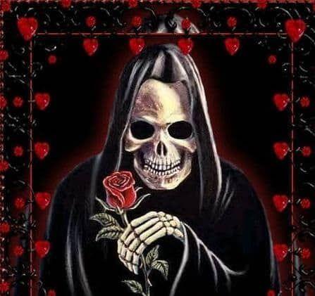 Oración A La Santa Muerte Para Curar A Un Enfermo Santa Muerte Muerte Negra Santa Muerte Blanca