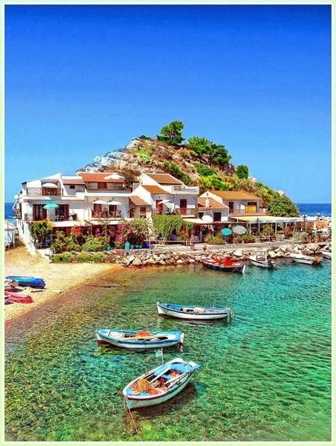 Samos, Greece It doesn't have to be Samos, but I would love to go to Greece