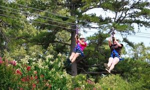 Zipline Adventure For Two Four Or Six At Zip Nac Up To 27 Off Ziplining Zipline Adventure Nacogdoches