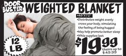 Weighted Blanket From Ollie S Bargain Outlet 19 99 Weighted Blanket Weight Ollie