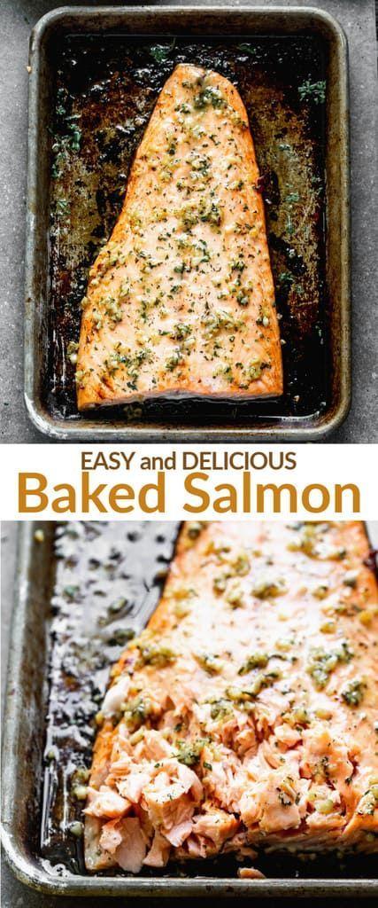 Baked Salmon Recipe Easy Salmon Recipes Salmon Recipes Baked Easy Baked Salmon