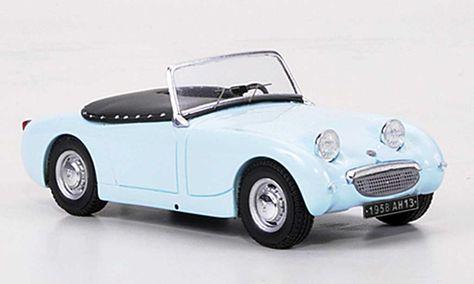 Austin Healey Sprite Frogeye Blue 1958 Spark Austin Healey Sprite