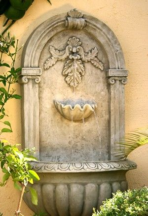 Wall Fountain | Fountains | Pinterest | Wall fountains, Fountain and ...