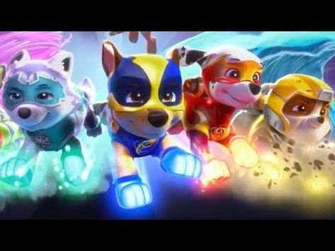 Learn Colors In English With Paw Patrol Mighty Pups The Offical