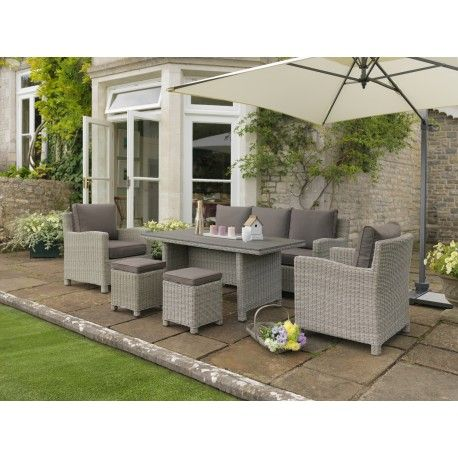 kettler palma casual dining corner set white wash notcutts notcutts home pinterest garden furniture gardens and decking - Garden Furniture Kettler