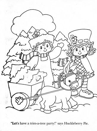 Album Archive Used Coloring Book Strawberry Shortcake Christmas Fun Strawberry Shortcake Coloring Pages Coloring Books Coloring Pages