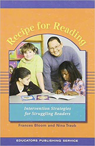 Amazon Com Recipe For Reading Revised And Expanded 9780838805053 Nina Traub Frances Bloom Boo Intervention Strategy Orton Gillingham Struggling Readers