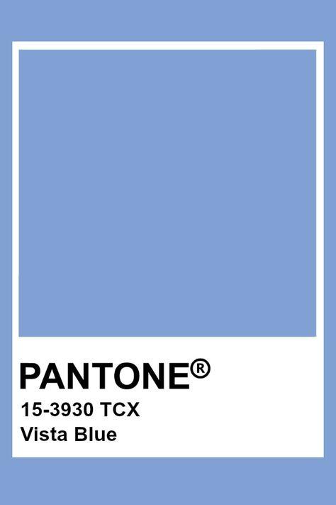 Pantone Vista Blue