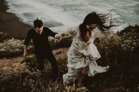 Moody + Romantic San Francisco Engagement Session
