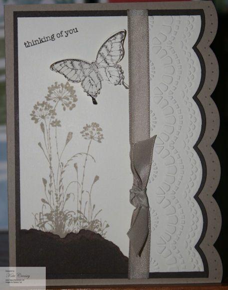 SU Serene Silhouettes, Delicate Design E F, Papillon Potpourri, Elegant Butterfly punch, Large Scallop edgelit