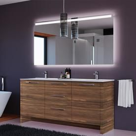 Casa Mare Casa Mare Nona 71 In Matte Walnut Double Sink