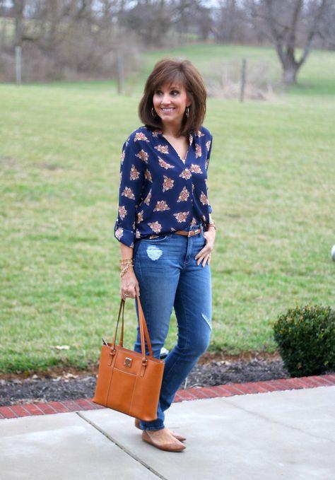 27 Days of Spring Fashion: Floral Fashion Trend - Cyndi Spivey