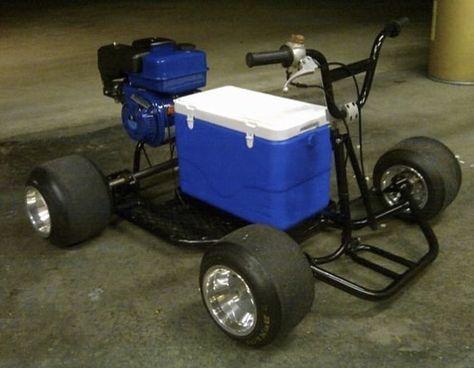 Set of 2 Clear Lightened Aluminum Front Wheel Hubs Go Kart Racing Drift Trike