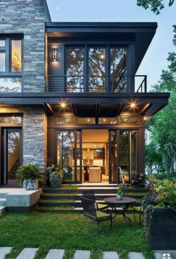 40 Fresh Look At New Home Design Ideas Dailypinmag Freshlookatnewhomedesign Fr Contemporary House Exterior House Architecture Design House Designs Exterior