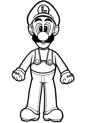 Luigi Para Colorear Mario Coloring Pages Super Mario Coloring Pages Cartoon Coloring Pages