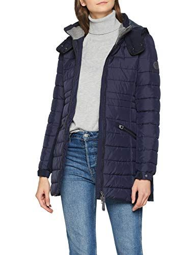Marc O'Polo Damen Jacke 808098771163 Blau (Night Tide 889