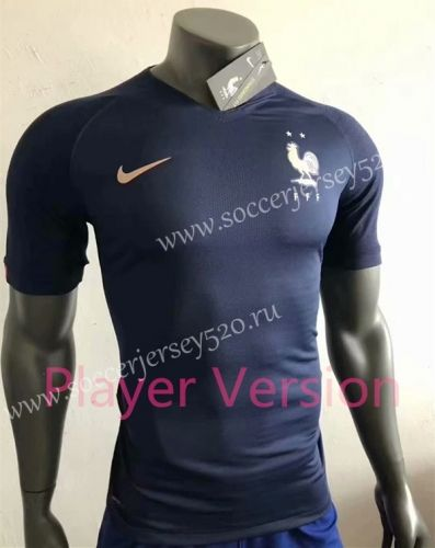 2019 2020 France Home Royal Blue Player Version Thailand Soccer Jersey Aaa 518 Soccer Jersey Soccer Football Sweater