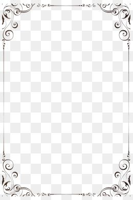 Simple And Fashionable Frame Simple Beautiful Png Transparent Clipart Image And Psd File For Free Download Frame Border Design Borders For Paper Easy Frame