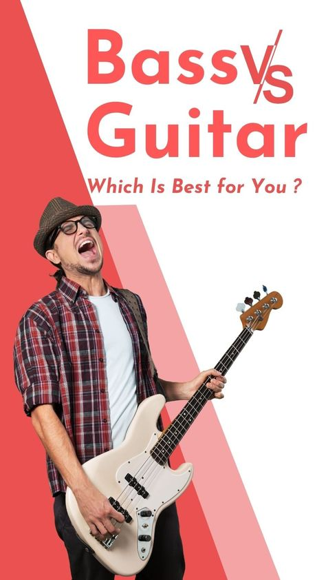 Bass Vs Guitar - Which is best for you?