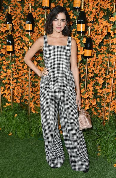 Camilla Belle attends the 9th Annual Veuve Clicquot Polo Classic Los Angeles at Will Rogers State Historic Park.