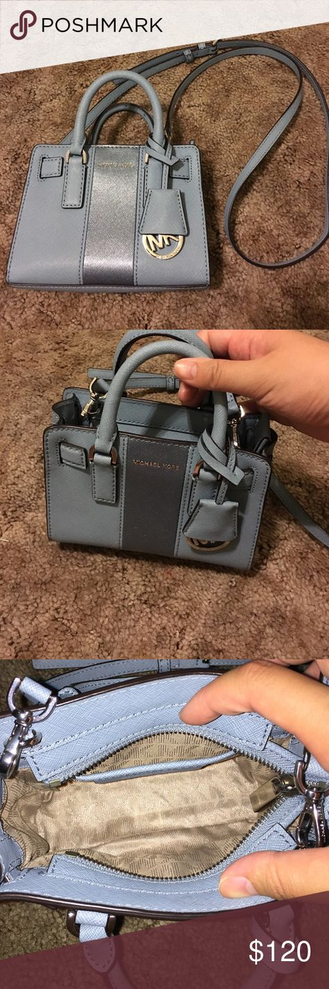 Michael Kors dillon MINI Used, great condition, little flaw as shown Michael Kors Bags Mini Bags