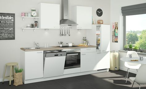 Kuchenzeile Ohne Elektrogerate Koln Kuchenzeilen Haus Deko Kuche Holzboden