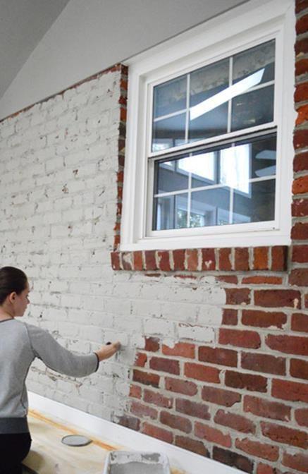 19 Perfect Interior Brick Wall Paint Ideas Painted Brick Walls