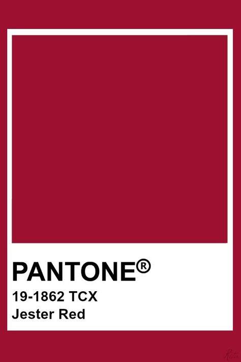 Pantone Jester Rouge  #jester #pantone #rouge