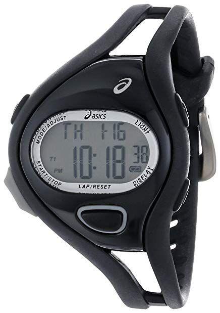 visitar pastor Tradicional  Asics Unisex CQAR0505 Entry All Black Digital Running Watch Review | Running  watch, Sport watches, Digital sports watches