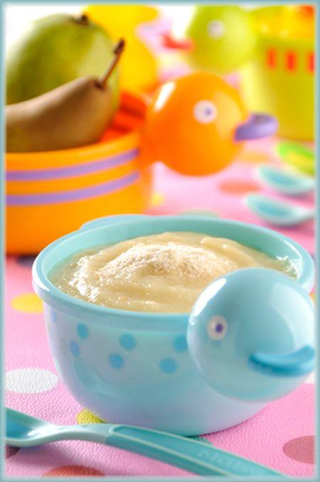 Papilla de pera y yogurt | Recetas y comida para bebés | Pinterest ...