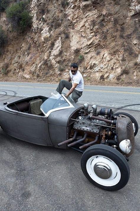 Automotive Rocker Switch Nude Naked Hot Girl Rat Hot Rod Drag Race Track Car RED