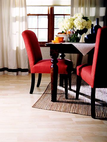 How To Install Laminate Wood Floor Divine Dining Rooms Pinterest