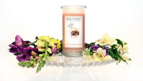Butter Roasted Pecans Ring Candle  Coming out Sept. 20th , keep your eyes peeled for more on this number :)  With our new Ring Candles you can now pick your own ring size =) A Perfect Fit Every Time!