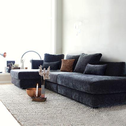 Mer enn 25 bra ideer om Velour sofa på Pinterest   Ottomaner ...