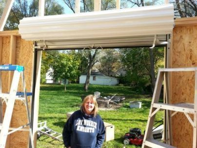 Roll Up Shed Doors Shed Doors Building A Storage Shed Shed