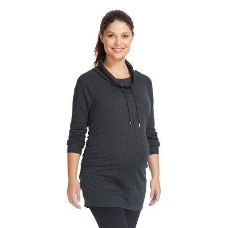 Maternity Hooded Tunic Sweatshirt - Liz Lange® for Target