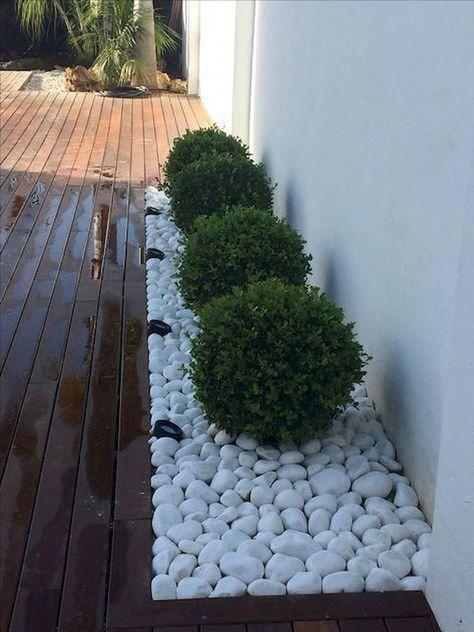 70 Magical Side Yard And Backyard Gravel Garden Design Ideas (1