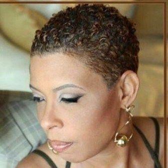 30+ Short Natural Curly Hairstyles in 2020   Short natural ...