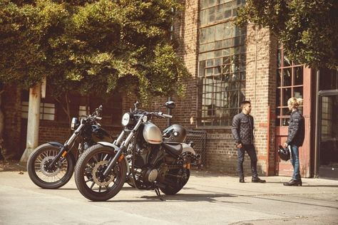 The Yamaha Bolt R-Spec: a modern classic that never goes out of style.     #BoltRSpec #SportHeritage #Bobber #YamahaBolt
