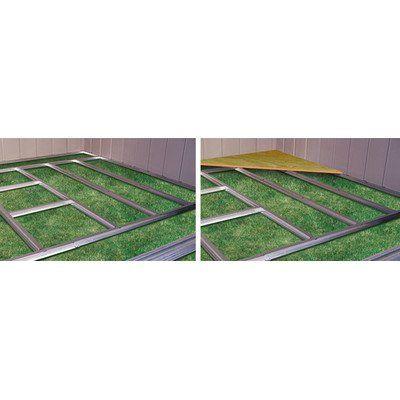 Designer Series Floor Frame Kit 10x8 Click For More Special Deals Decor Homedecor Decorideas Homedecorations Shed Floor Floor Framing Shed