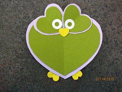 Cute & Easy Valentine Owl